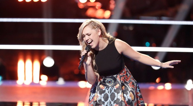 "Exclusive: Morgan Frazier Follows ""Heart"" For 'The Voice' Live Playoffs"