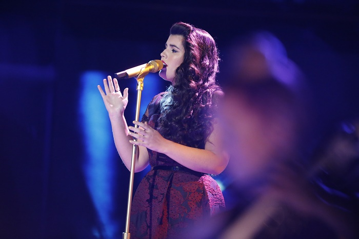 """THE VOICE -- """"Live Top 10"""" -- Pictured: Madi Davis -- (Photo by: Trae Patton/NBC)"""