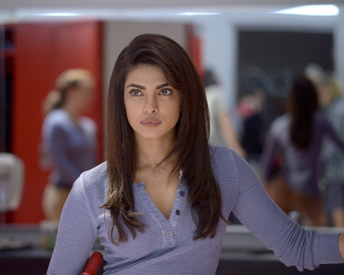 """QUANTICO - """"Quantico"""" - At Quantico, an emergency disciplinary hearing causes deep secrets to be spilled, while in the future Alex works covertly with her team to find the real bomber before her time runs out. """"Quantico"""" airs SUNDAY, DECEMBER 6 (10:00 p.m. - 11:00 p.m., ET) on the ABC Television Network. (ABC/Phillippe Bosse) PRIYANKA CHOPRA"""