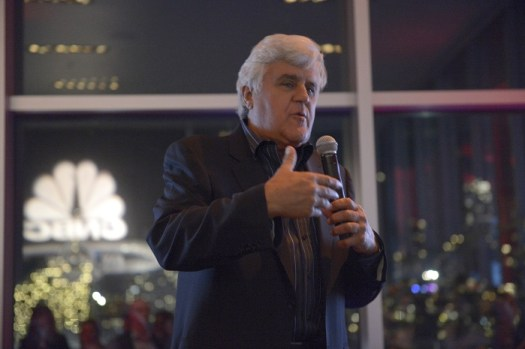 JAY LENO'S GARAGE -- Premiere Event -- Pictured: Jay Leno -- (Photo by: Virginia Sherwood/CNBC)