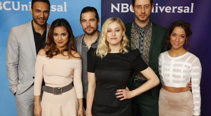 "Olivia Taylor Dudley & Arjun Gupta Talk Content Creation (""The Magicians"")"