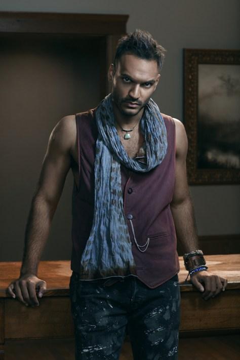 THE MAGICIANS -- Season:1 -- Pictured: Arjun Gupta as Penny -- (Photo by: Rodolfo Martinez/Syfy)