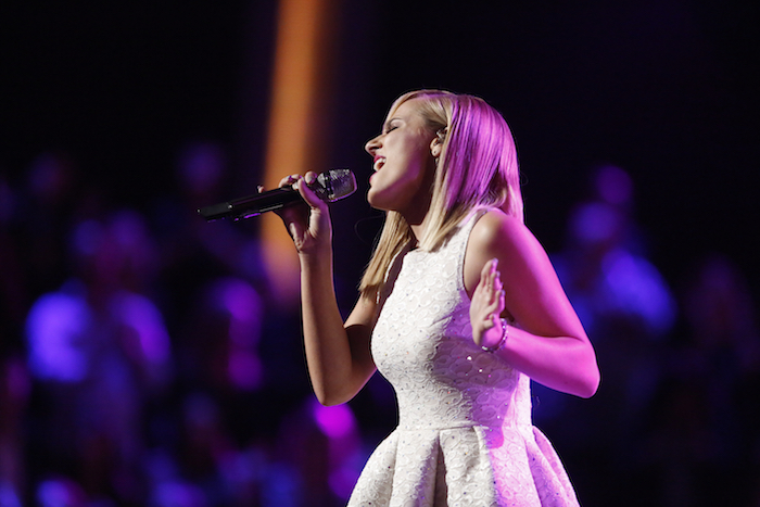 THE VOICE -- Pictured: Mary Sarah -- (Photo by: Trae Patton/NBC)