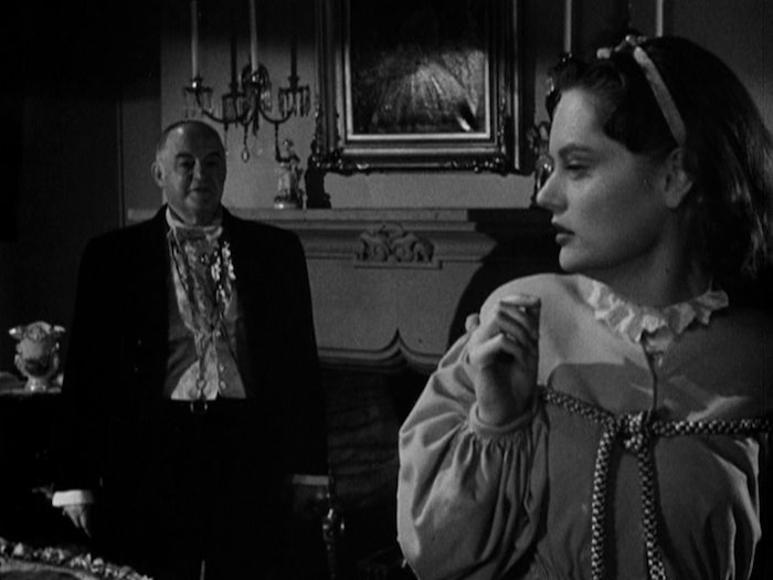 """Sydney Greenstreet & Alexis Smith in """"The Woman In White"""" (Warner Archive Collection)"""
