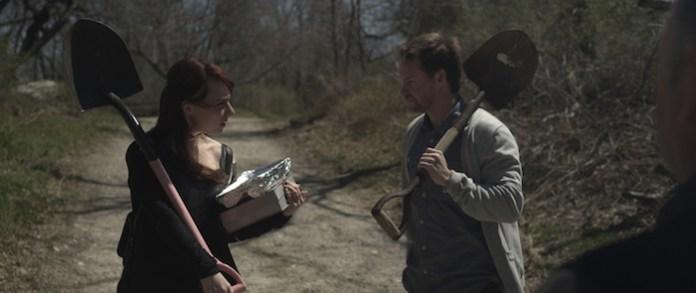 """Kate Murdoch & Casey Nelson in """"The Last Treasure Hunt"""""""
