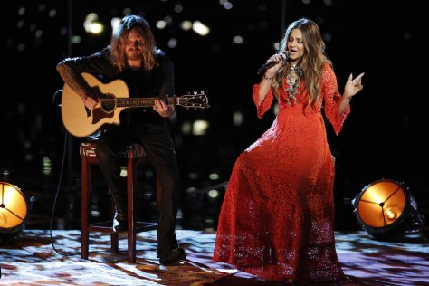 """THE VOICE -- """"Live Top 10"""" -- Pictured: Alisan Porter -- (Photo by: Tyler Golden/NBC)"""