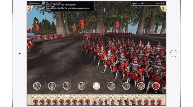 'Rome: Total War' Hits iPad This Fall