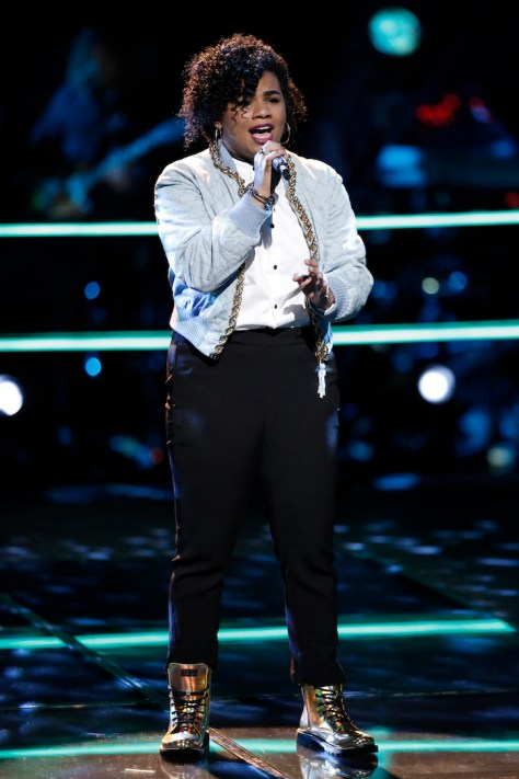 """THE VOICE -- """"Battle Rounds"""" -- Pictured: We' McDonald -- (Photo by: Tyler Golden/NBC)"""