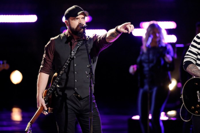 "THE VOICE -- ""Live Finale"" - Pictured: Josh Gallagher -- (Photo by: Tyler Golden/NBC)"