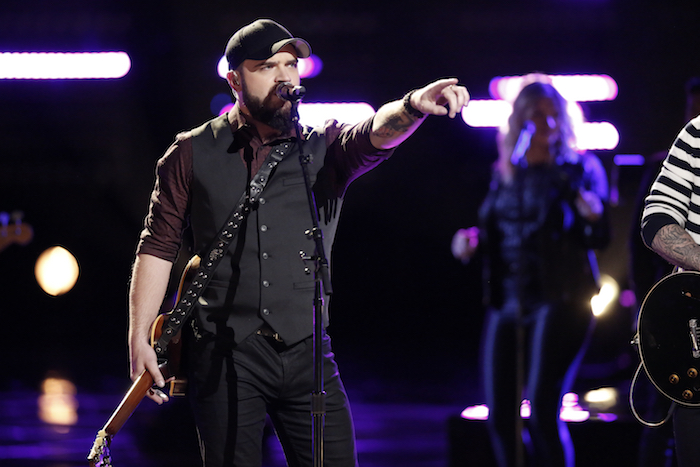 """THE VOICE -- """"Live Finale"""" - Pictured: Josh Gallagher -- (Photo by: Tyler Golden/NBC)"""
