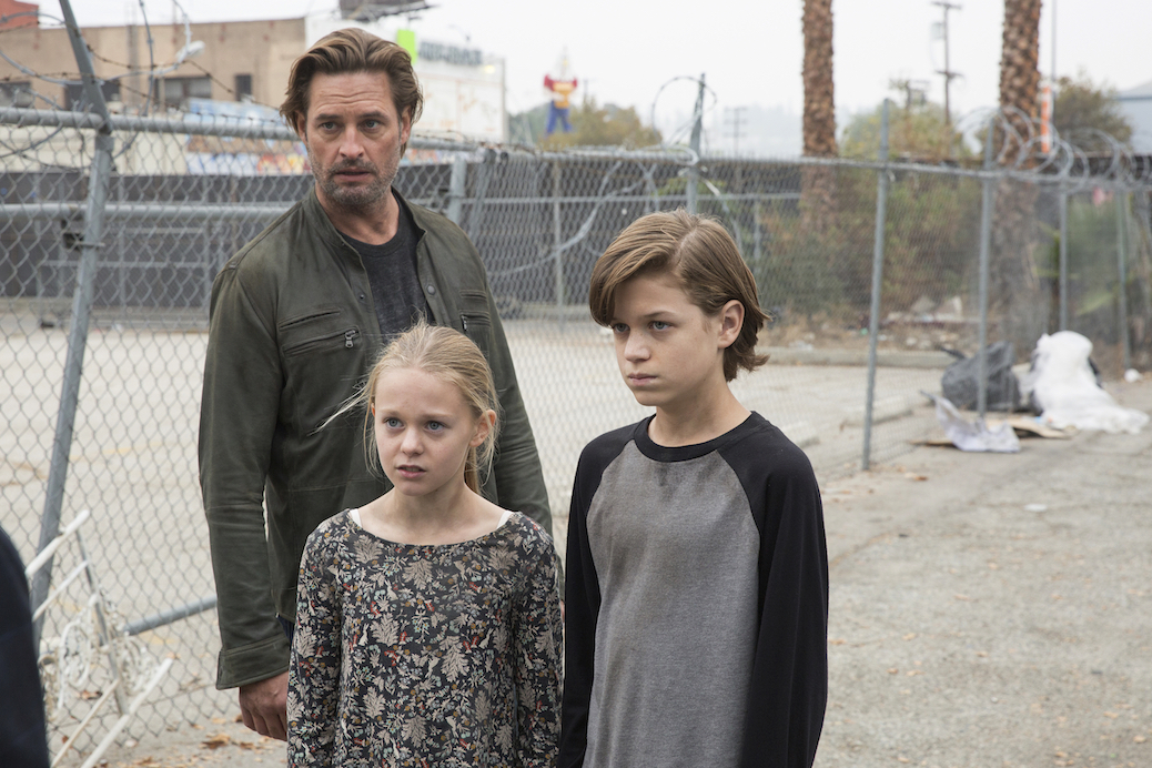 "Josh Holloway Discusses ""Another World"" Behind 'Colony' Mysteries"