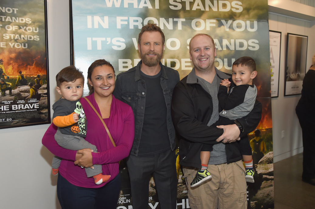 "Dierks Bentley Cherishes ""Meaningful"" Experience Of 'Only The Brave'"