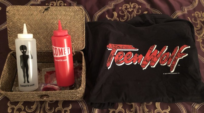 CinemAddicts Giveaway: 'Teen Wolf' Shirt & Comet TV Condiment Bottles