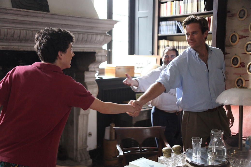 "Armie Hammer Talks ""Enthralled"" Emotions of 'Call Me By Your Name'"
