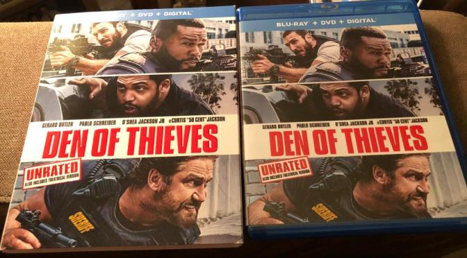'Den of Thieves' Blu-ray Giveaway From CinemAddicts