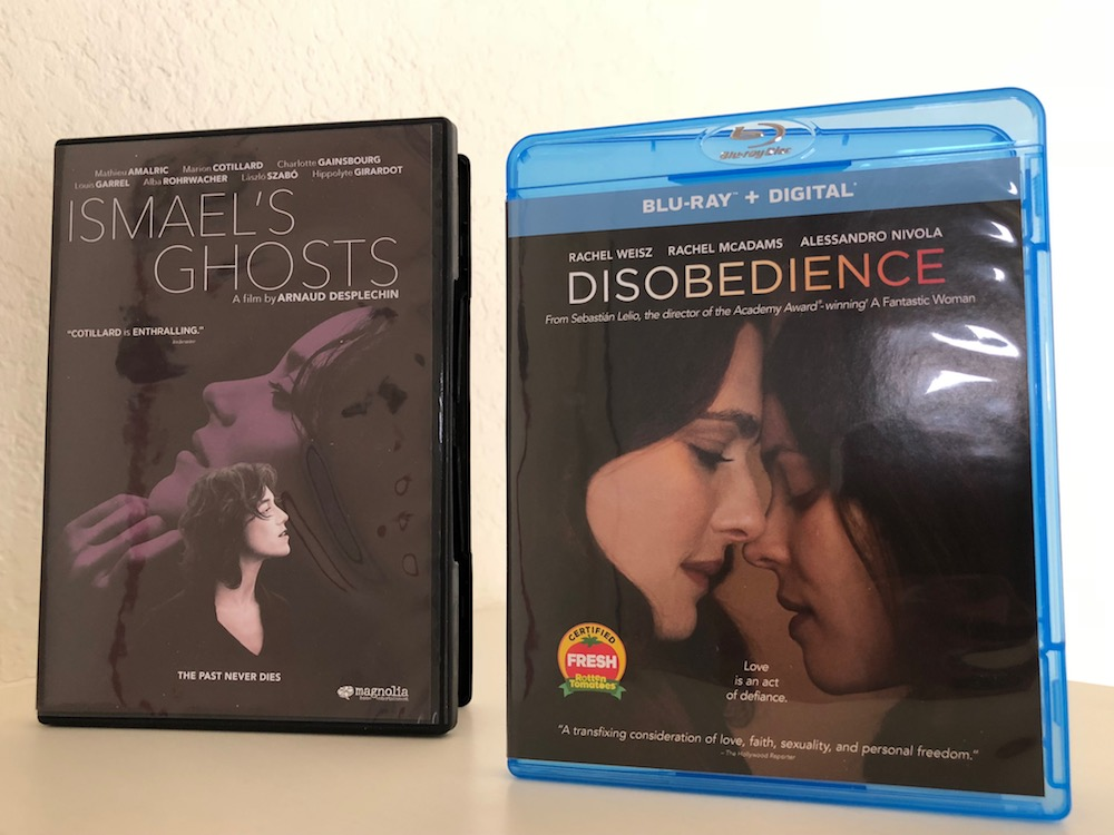 'Disobedience' Blu-Ray and 'Ismael's Ghosts' DVD Giveaway From CinemAddicts
