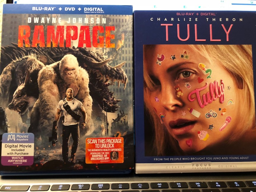 'Rampage' and 'Tully' Blu-Ray Giveaway From CinemAddicts!