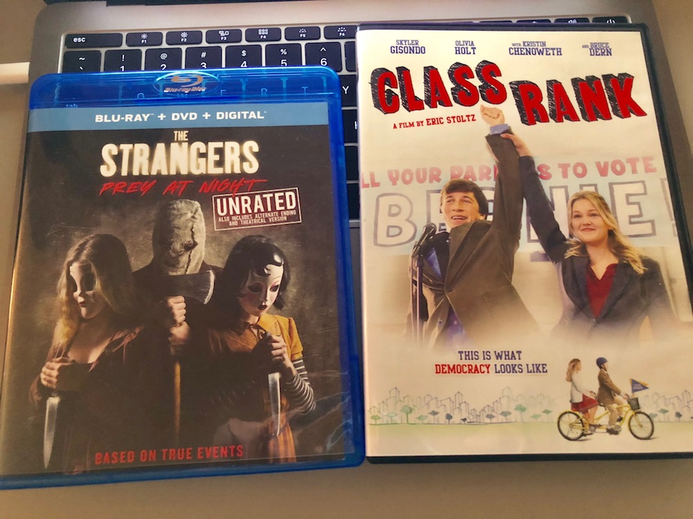 'The Strangers: Prey At Night' Blu-Ray & 'Class Rank' DVD Giveaway From CinemAddicts!!