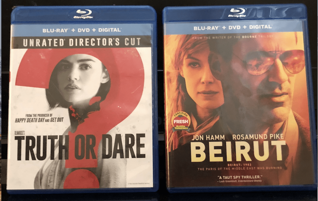 'Truth Or Dare' And 'Beirut' Blu-Ray Giveaway From CinemAddicts