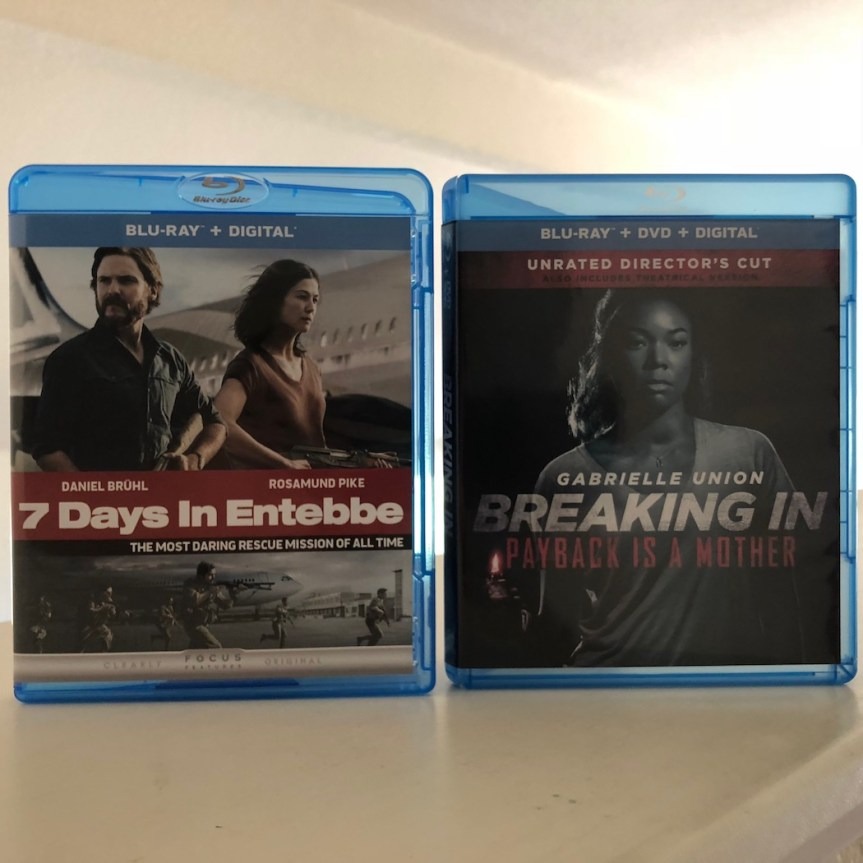 'Breaking In' And '7 Days in Entebbe' Blu-ray Giveaway From CinemAddicts!