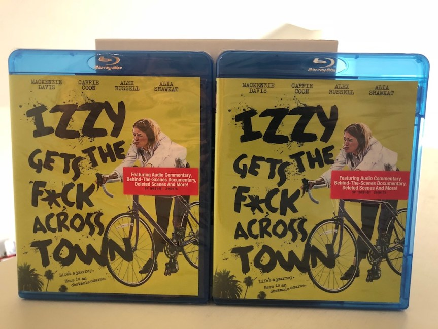'Izzy Gets The F*ck Across Town' Blu-Ray Giveaway From CinemAddicts!