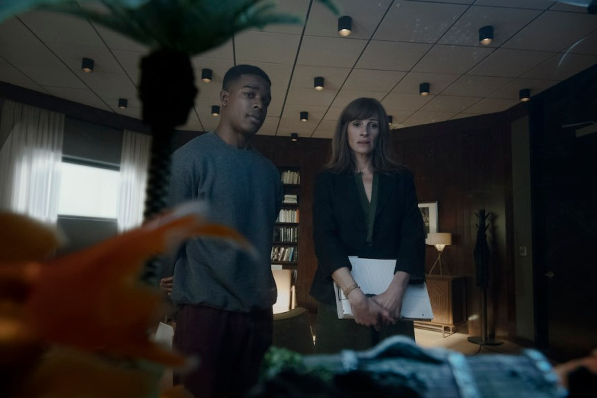 'Homecoming' Review: Hitchcockian Flair Dominates Riveting And Resonant Thriller