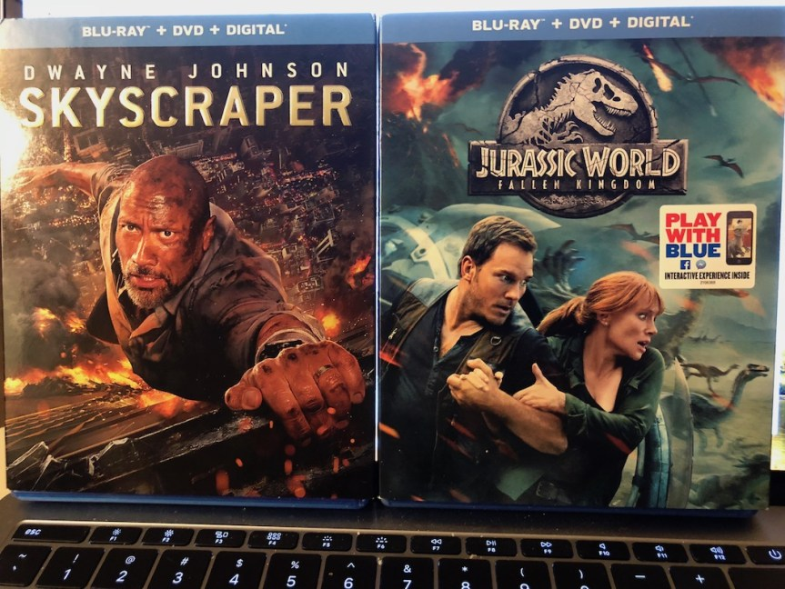'Skyscraper' and 'Jurassic World: Fallen Kingdom' Blu-Ray Giveaway From CinemAddicts!