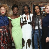 Scarlett Johansson Hosts Black Panther Screening And Reception At Crosby Hotel