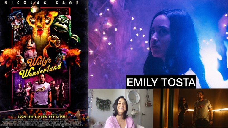 Emily Tosta Talks Willy's Wonderland, Inner Strength, And Mayans M.C. Experience