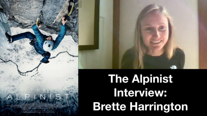 Brette Harrington Talks 'The Alpinist' And Bond With Marc-Andre Leclerc