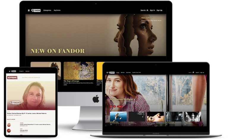 """Streaming Service Fandor Gets """"New-Look"""" With More Immersive Cinematic Experience"""