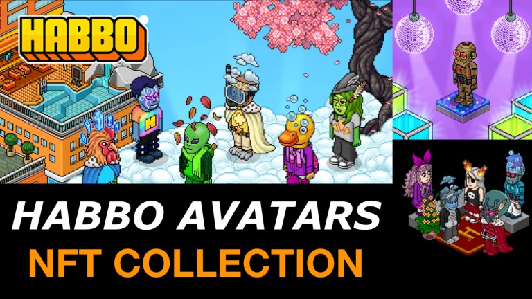 Habbo Avatars NFT Collection Sells Out In 26 Hours