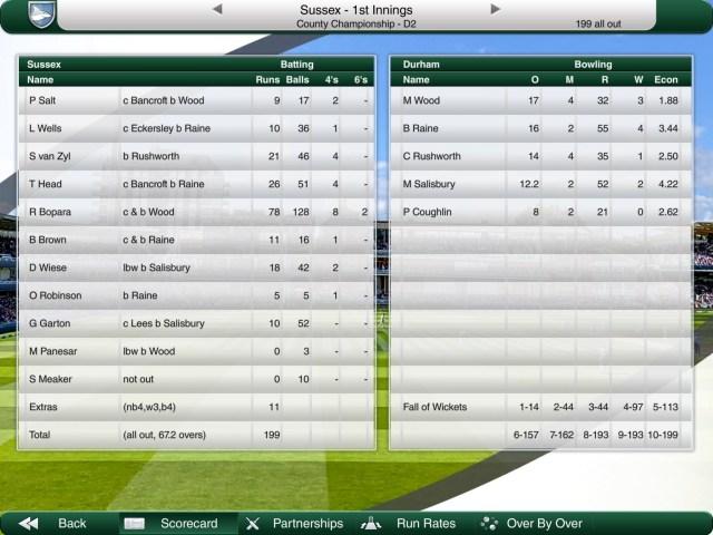 Fantasy cricket part 2