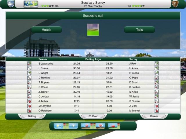 Fantasy cricket T20