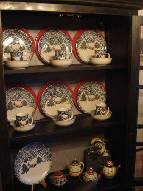 Inside the China Cabinet