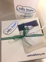 Anniversary delivery of Tiff's Treats