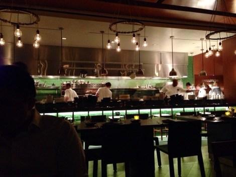 Chef's Bar Seating. Watch John Tesar himself make your dinner.