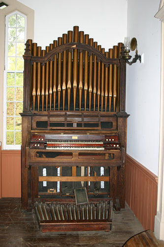 Organ, Grand Gulf Mississippi