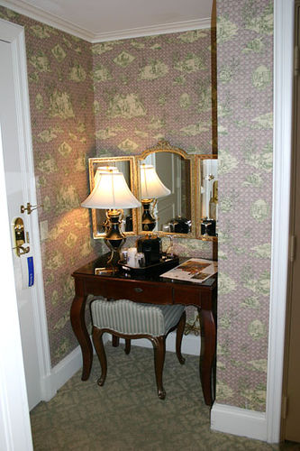 Desk, Ritz Carlton in New Orleans