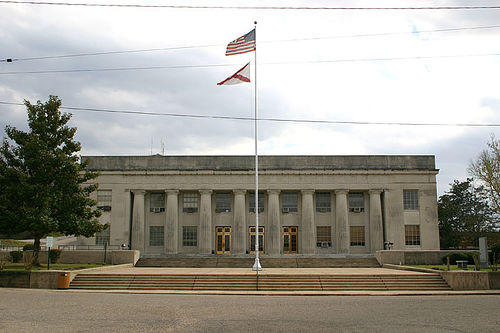 Elmore County Courthouse, Wetumpka, AL