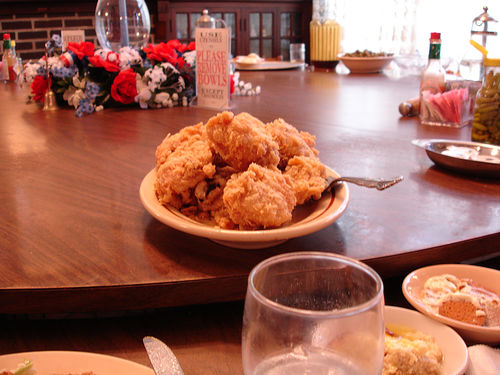 Fried Chicken at The Dinner Bell, McComb MS