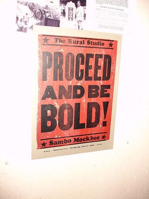 Proceed And Be Bold! Rural Studio, Samuel