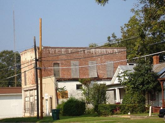 Sweet Alabama Painted on Brick, Selma AL