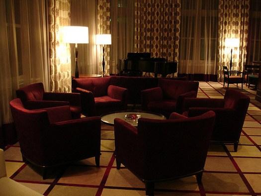 Common Area, the Alluvian Hotel, Greenwood MS