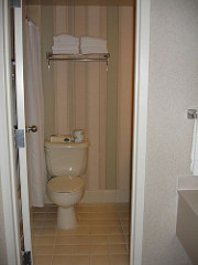 Bathroom, Perdido Beach Resort, Orange Beach AL