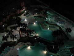 Nighttime Pool at Perdido Beach Resort, Orange Beach AL