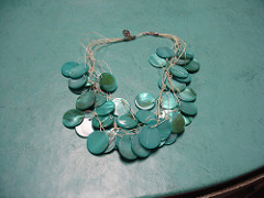 Shell / Button Necklace 6