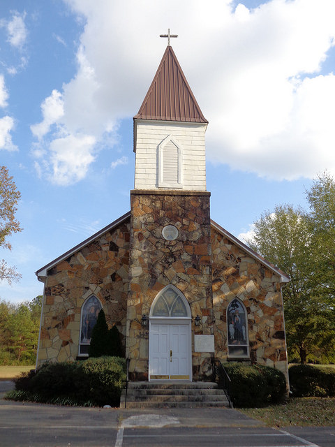 Valhermoso Springs First Christian Church And Trail Of Scriptures, Valhermoso Springs AL