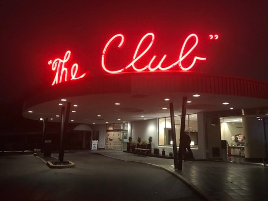 The Club neon sign, Birmingham AL