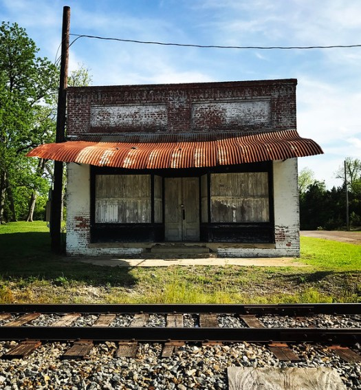 Store, Rusted Awning. Demopolis, AL